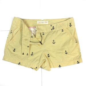 🌊BT21 J.Crew Preppy Anchor Chino Shorts 6